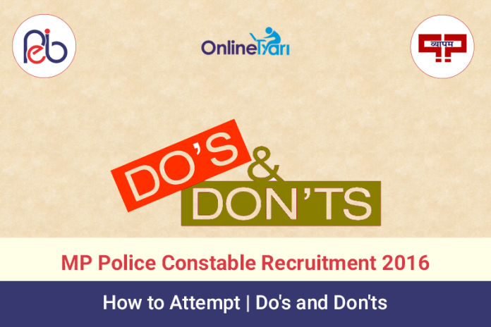 MP-Police-Constable-Recruitment-2016-How-to-Attempt-_-Do's-and-Don'ts