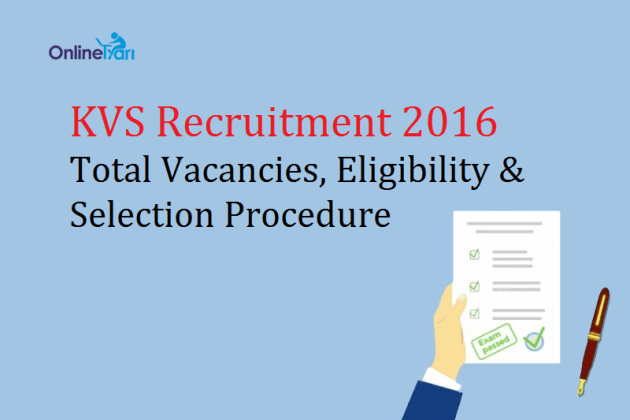 KVS-Recruitment-2016