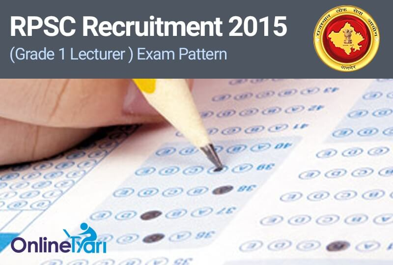 RPSC-Grade-1-Teacher-Exam-Pattern