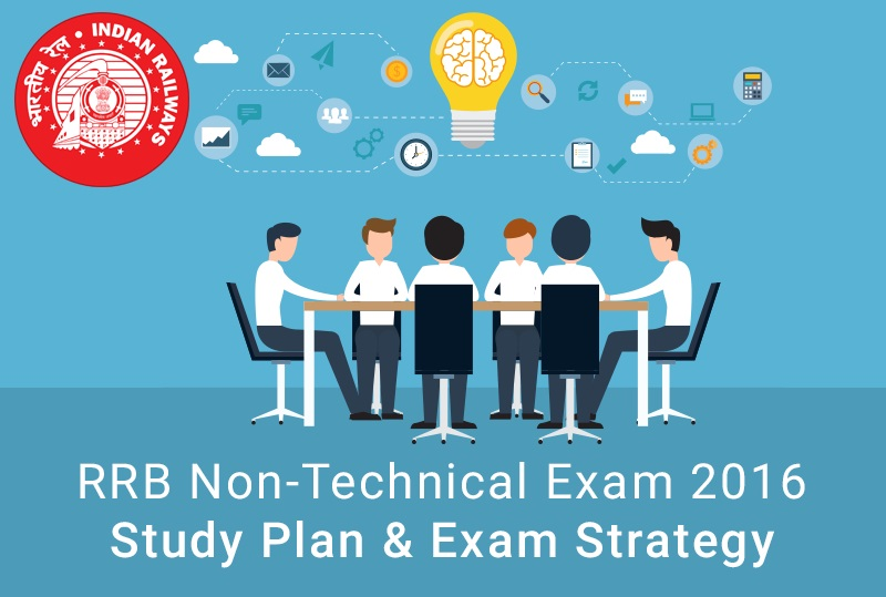 RRB Non-Technical Recruitment Exam 2016 Study Plan & Exam Strategy