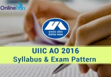 UIIC-AO-Syllabus-Exam-Pattern-for-Generalist-and-Specialist-Posts