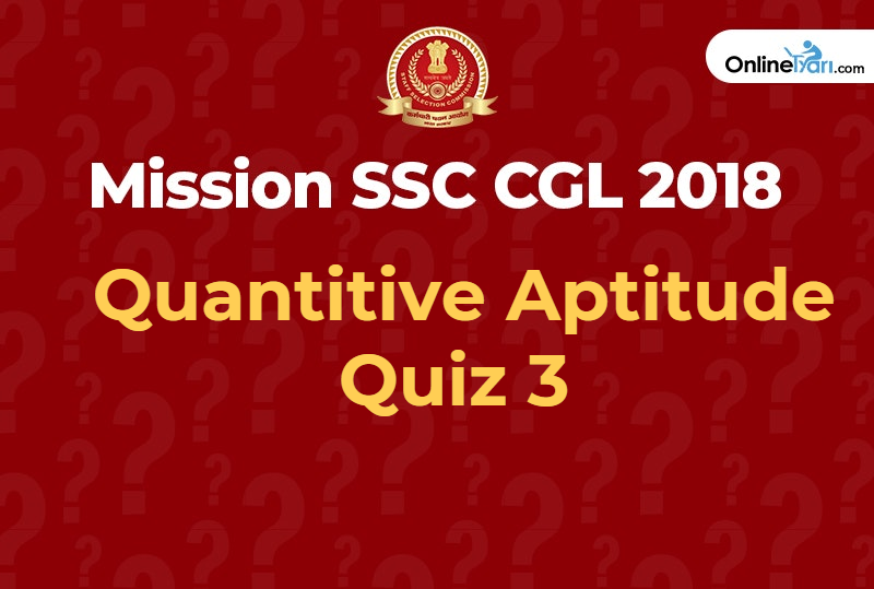 Quantitive Aptitude Quiz 3