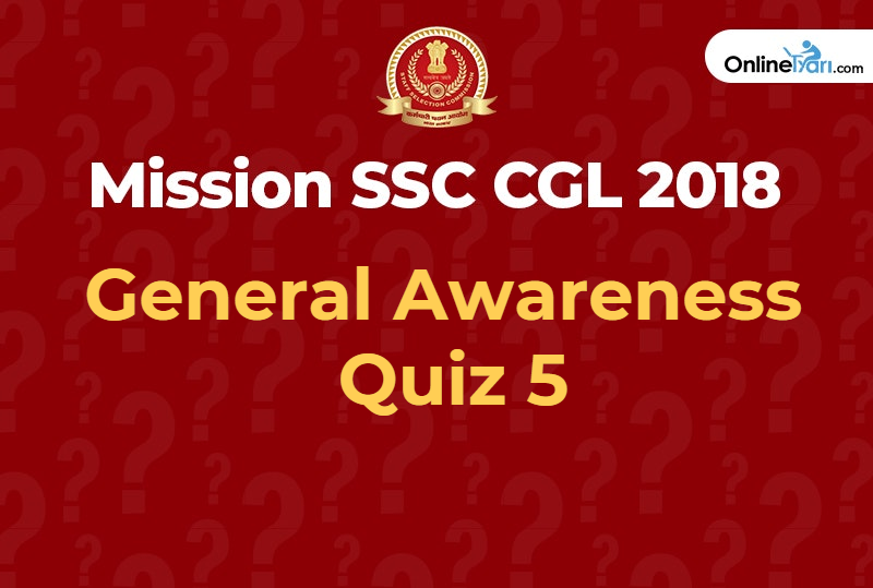 SSC general awareness quiz 5.